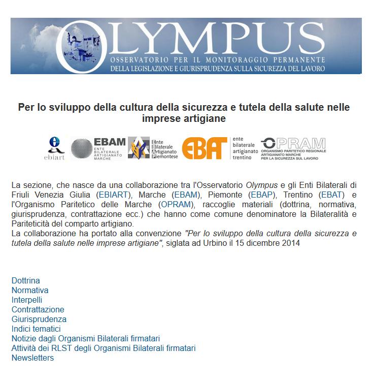 convenzione Olympus