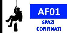 AF01 – Corso SPAZI CONFINATI